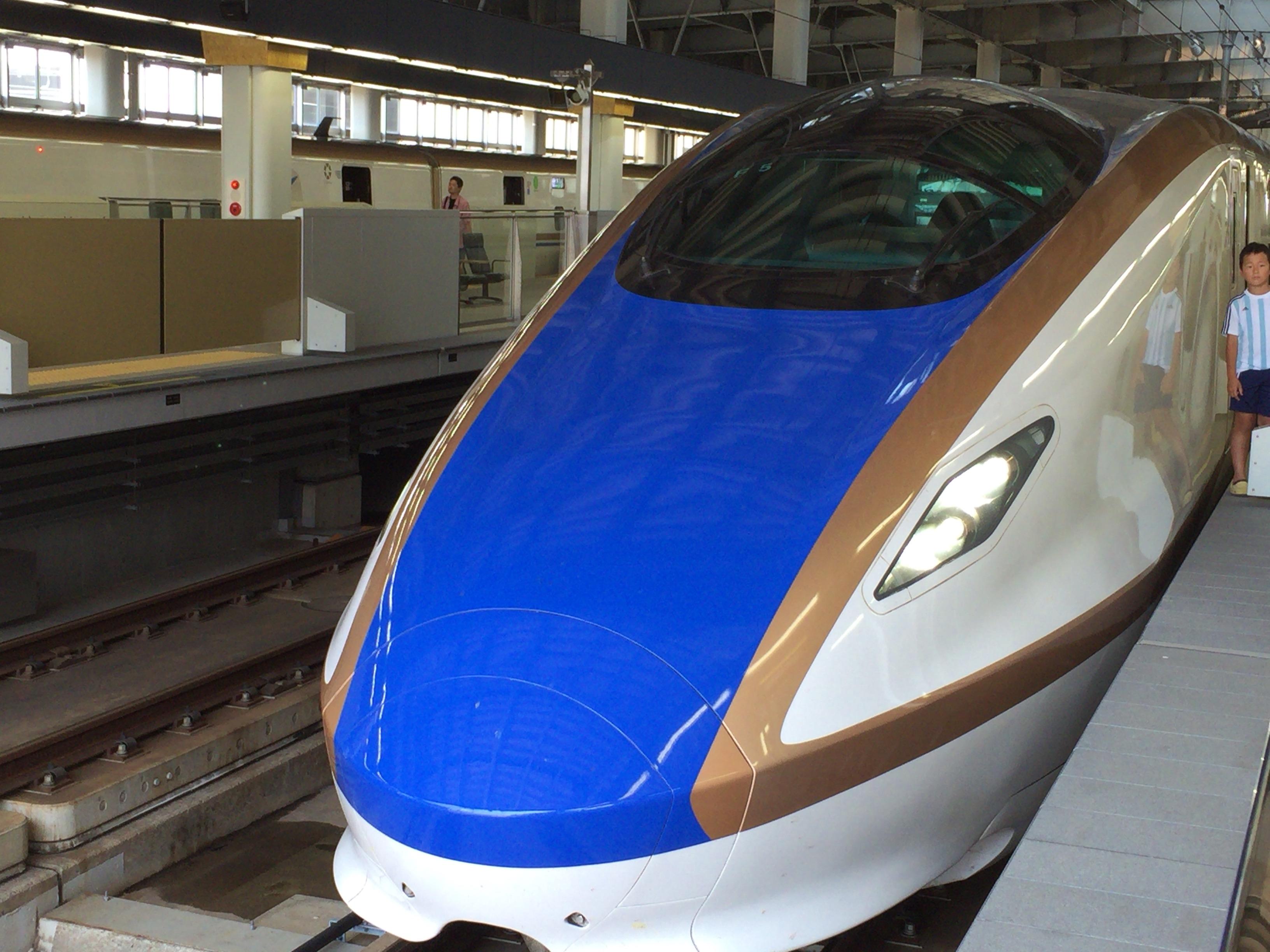 北陸新幹線に乗っての旅行は快適でした
